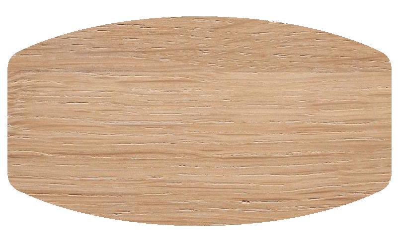 TOSH Tisch mit Tischplatte in Bootsform
