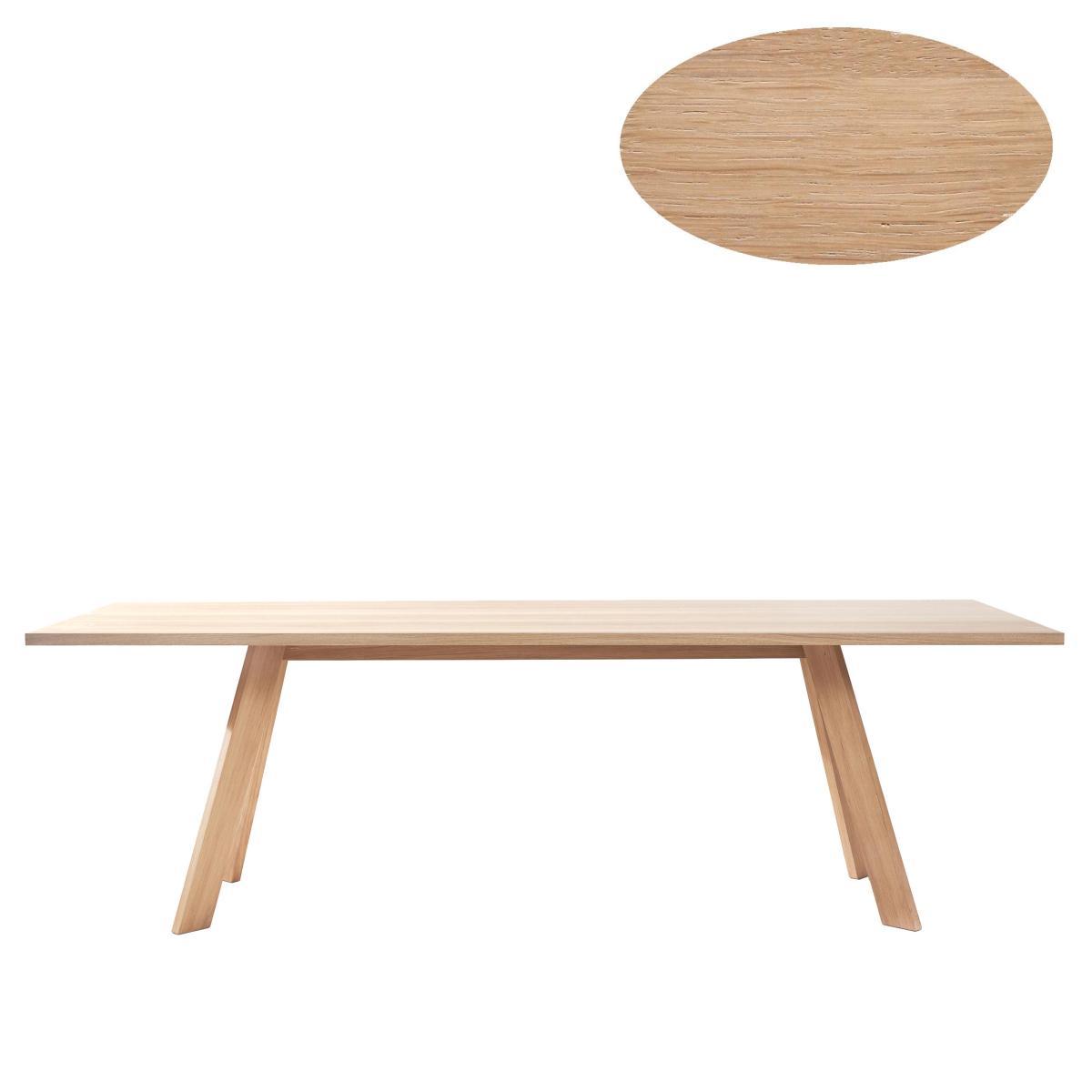 TOSH Tisch oval Ausführung nach Wunsch
