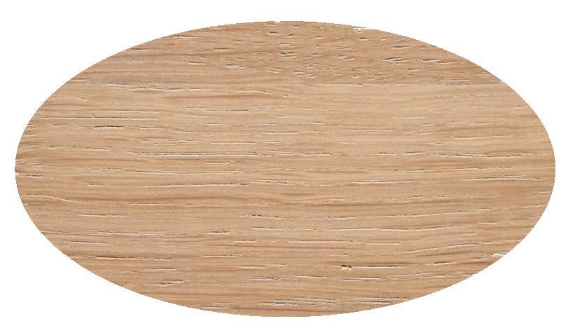 TOSH Tisch ovaler Tischplatte