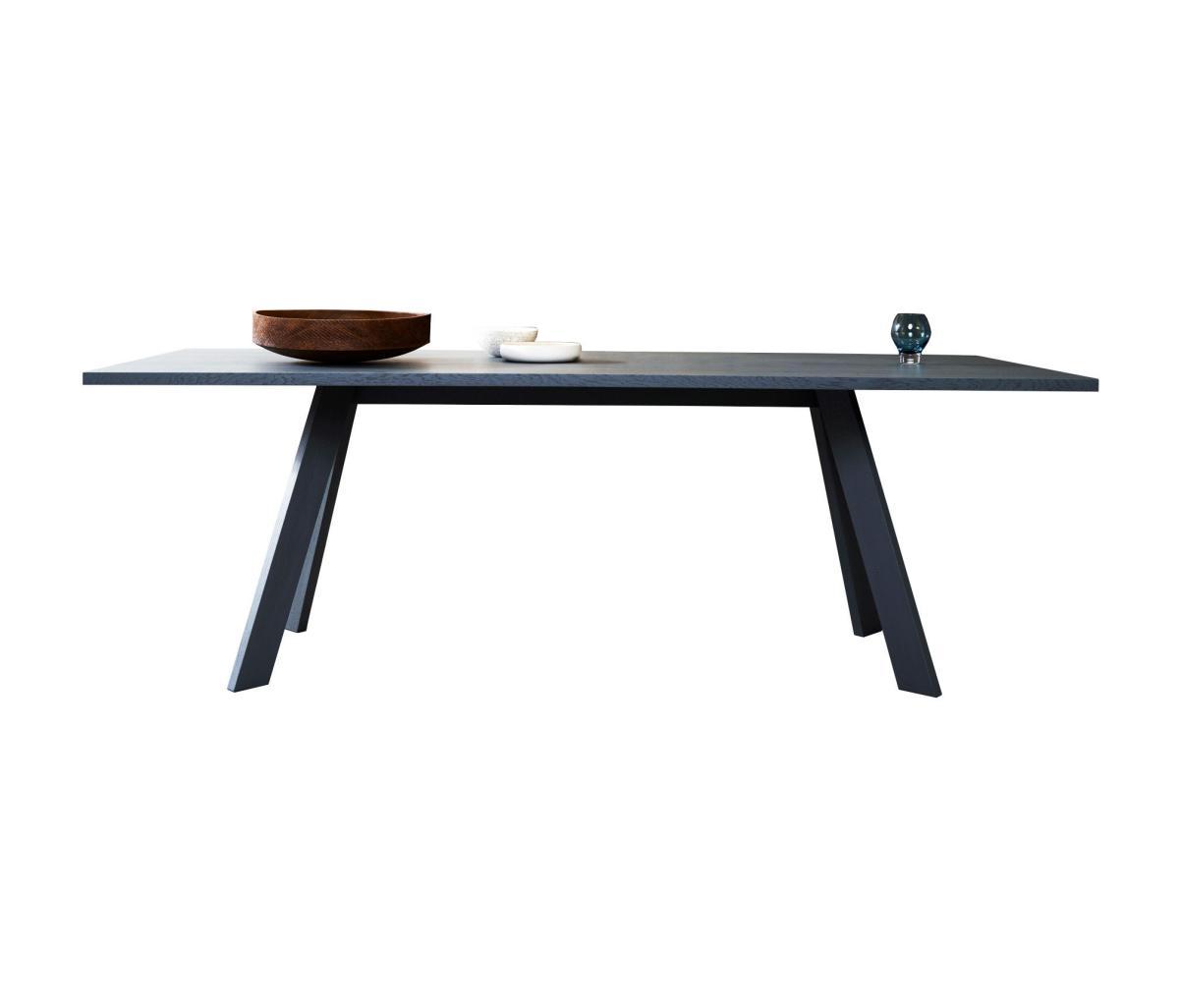 TOSH Tisch in Eiche schwarz