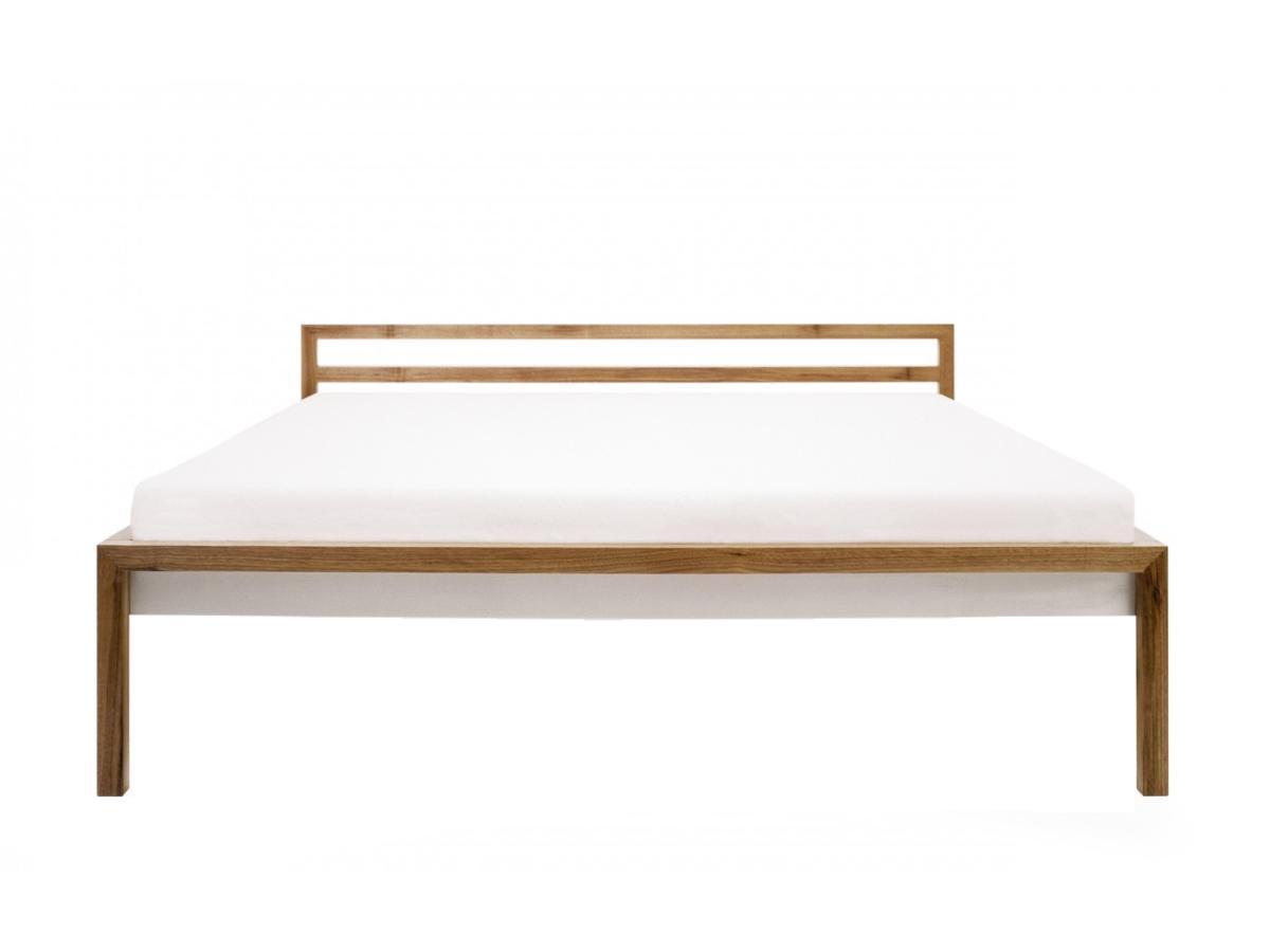 ROOM Bett mit Kopfteil, Frontalansicht