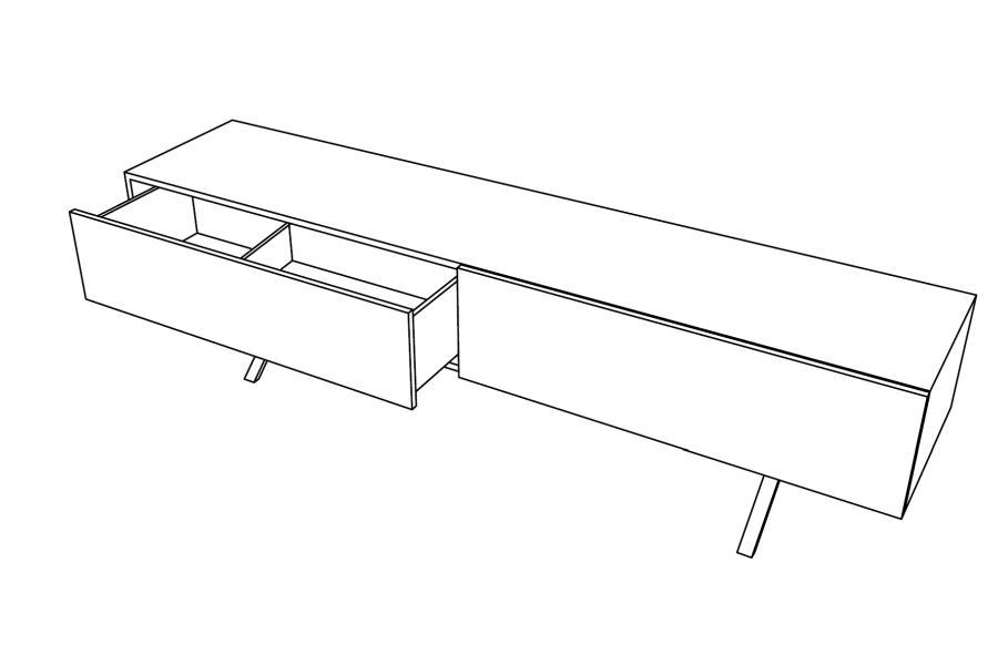 LAX Sideboard Ausführung nach Kundenwunsch