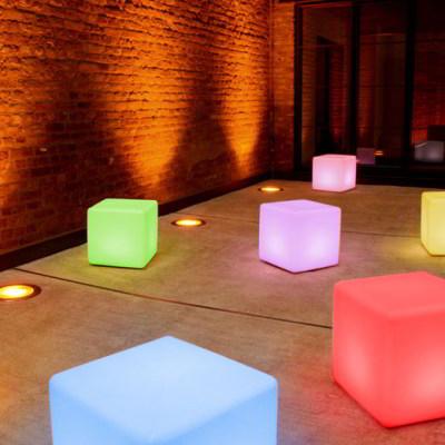 Leuchtwürfel Cube LED PRO Accu