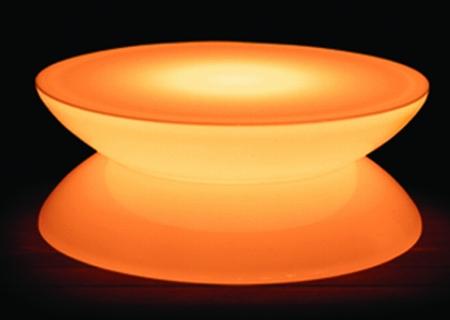 Leuchttisch Lounge LED PRO Accu Multicolor