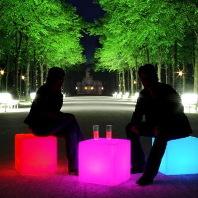 CUBE Leuchtwürfel LED Accu
