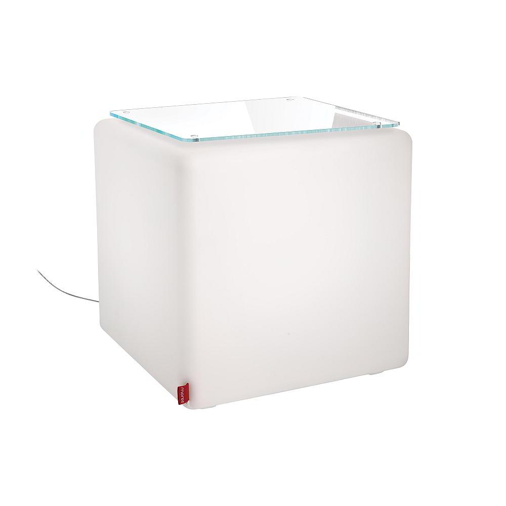 CUBE Leuchtwürfel Indoor mit Glasplatte