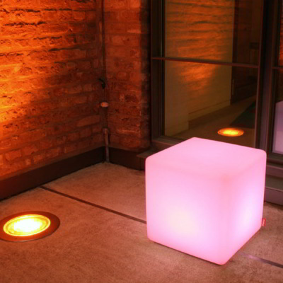 Leuchtwürfel Cube LED Outdoor
