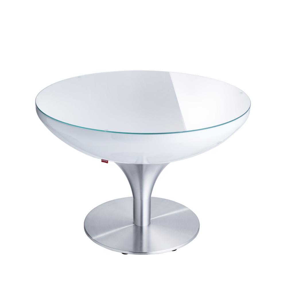 LOUNGE Tisch 55 cm, inkl. Glasplatte, ohne Licht