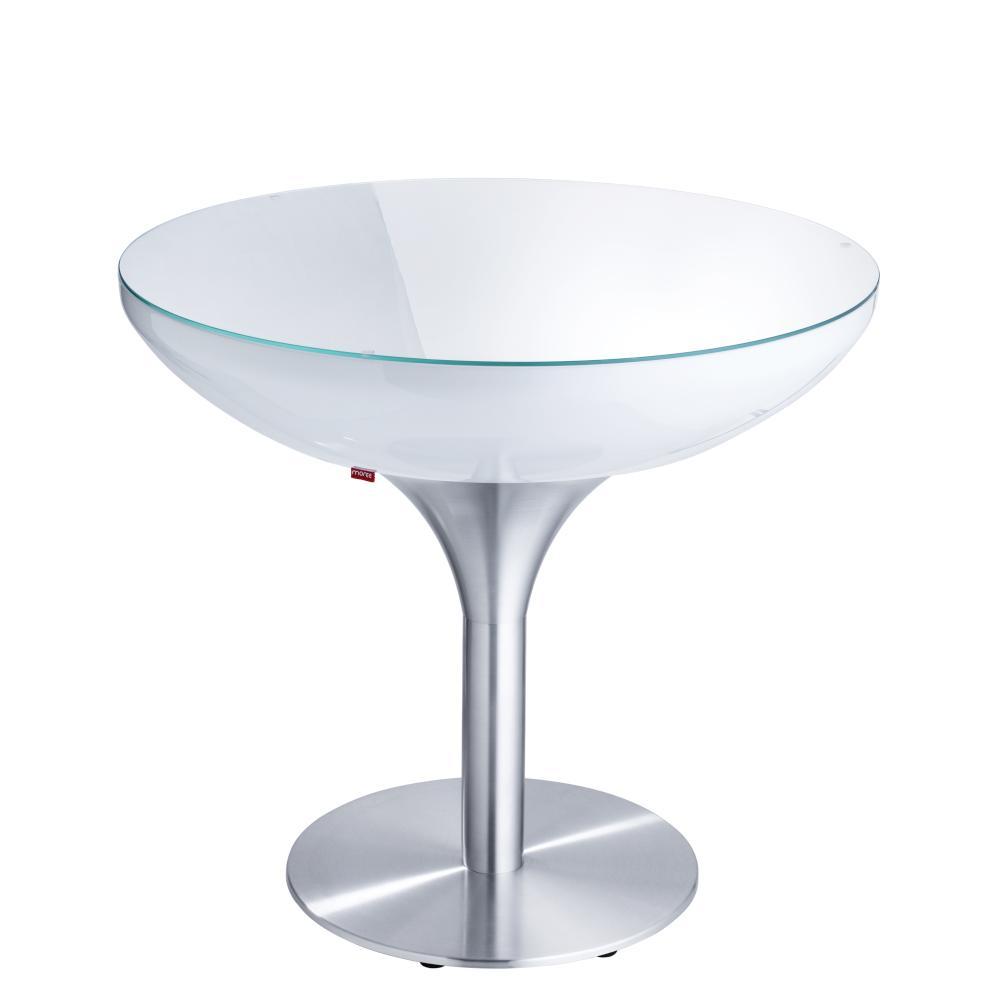 LOUNGE Tisch 75 cm, inkl. Glasplatte, ohne Licht