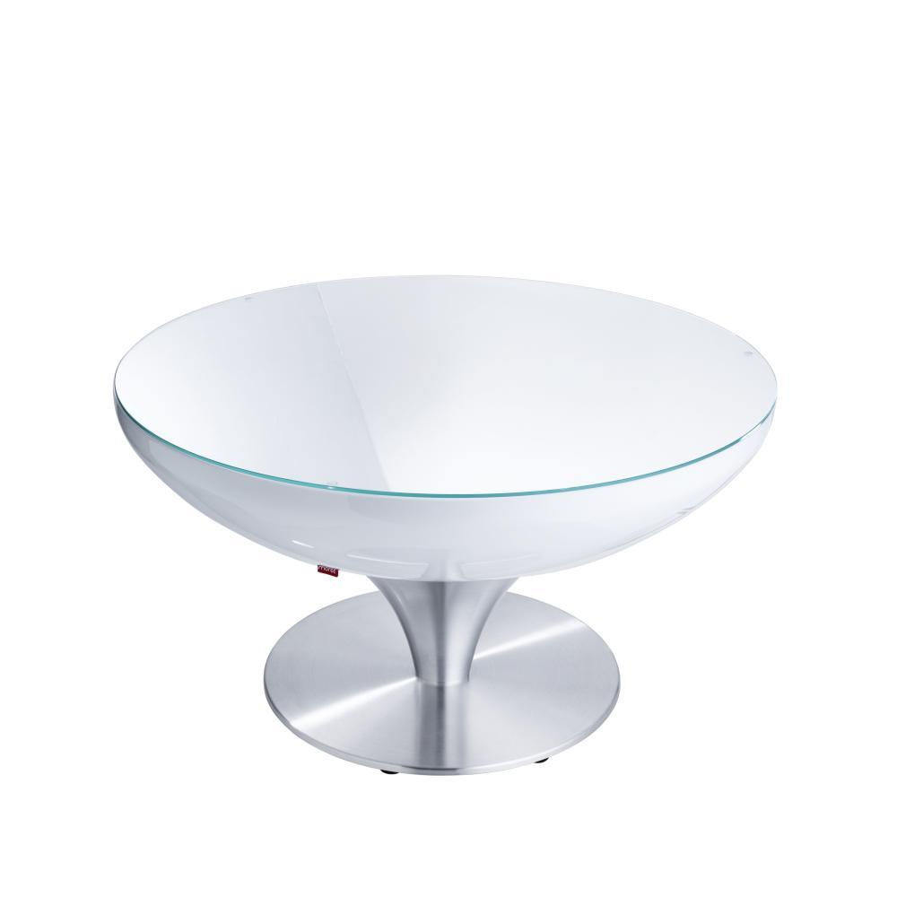 LOUNGE Tisch 45 cm, inkl. Glasplatte, ohne Licht