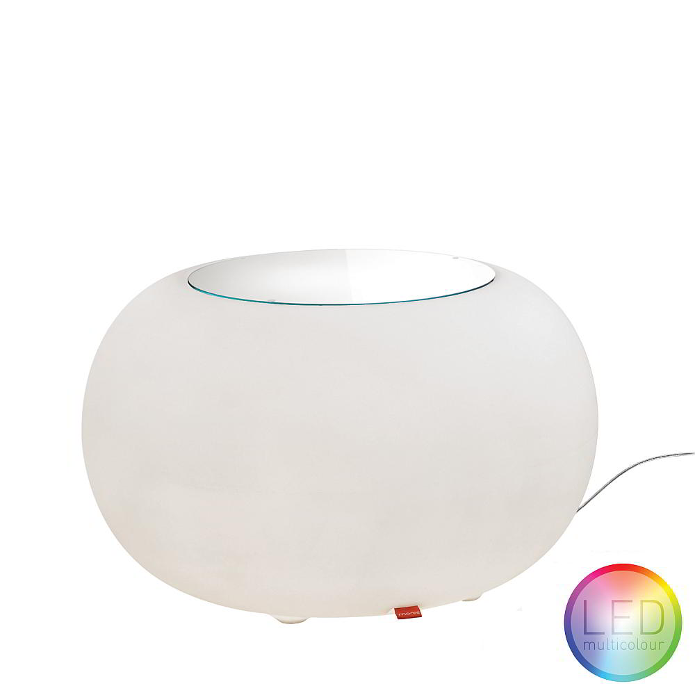 BUBBLE Leuchttisch LED ACCU Multicolor mit LED-Panel