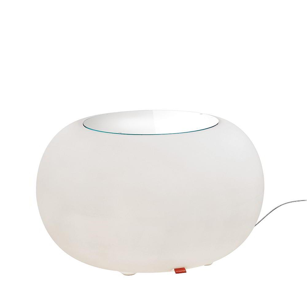 BUBBLE Leuchttisch Outdoor mit Energiesparlampe