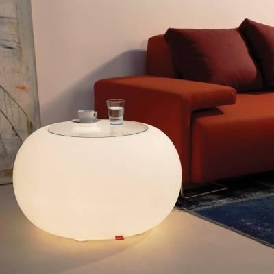BUBBLE Leuchttisch Indoor mit Energiesparlampe