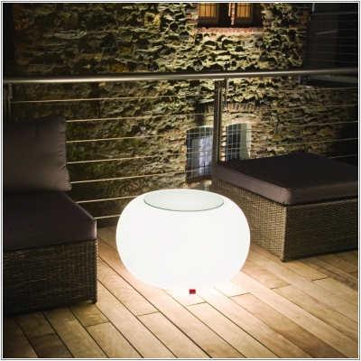 BUBBLE Leuchttisch mit Energiesparlampe