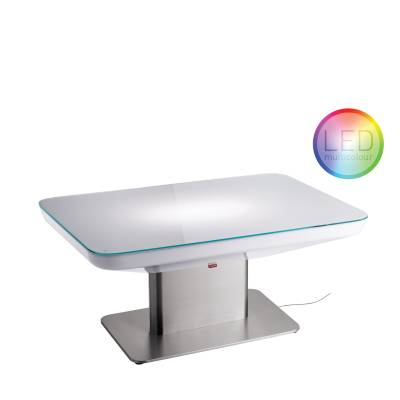 STUDIO 45 LED Pro–Multicolor beleuchteter Couchtisch