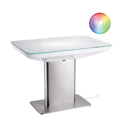 STUDIO 75 LED PRO-Multicolor beleuchteter Esstisch