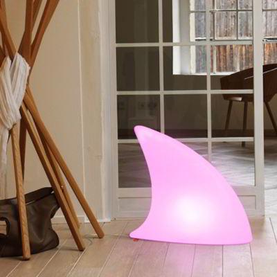 shark beleuchtete haifischflosse von moree bei. Black Bedroom Furniture Sets. Home Design Ideas