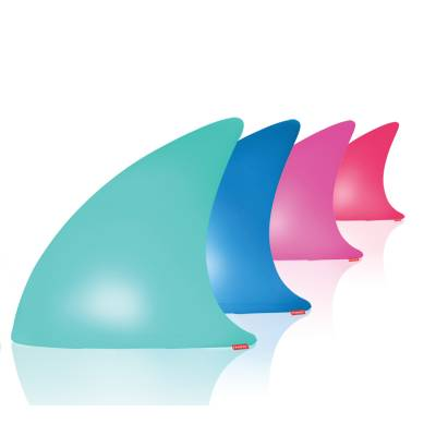 SHARK beleuchtete Haifischflosse, LED farbig