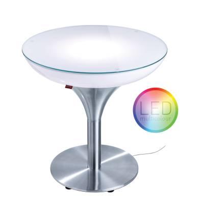 LOUNGE M 55 beleuchteter Tisch