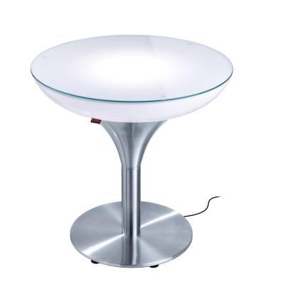 LOUNGE M 55 beleuchteter Tisch Outdoor