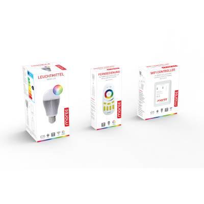 App und WIFI-Controller für LED RGBW von moree