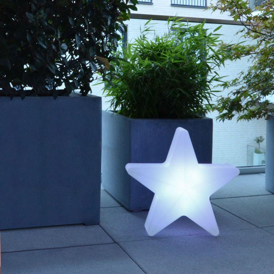 STARS Weihnachtsstern beleuchtet