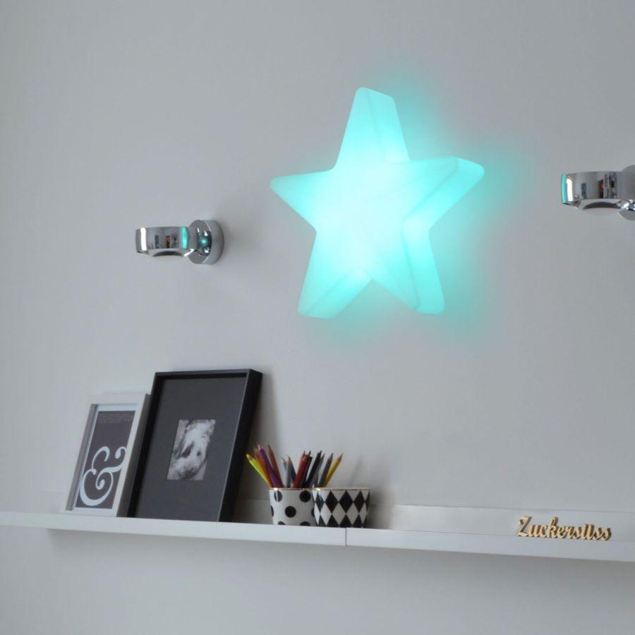 STAR Weihnachtsstern beleuchtet, inklusive Wandaufhängung