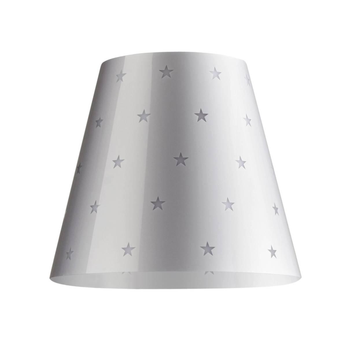 SWAP Cover, Lampenschirm Silver Stars, silbergrau