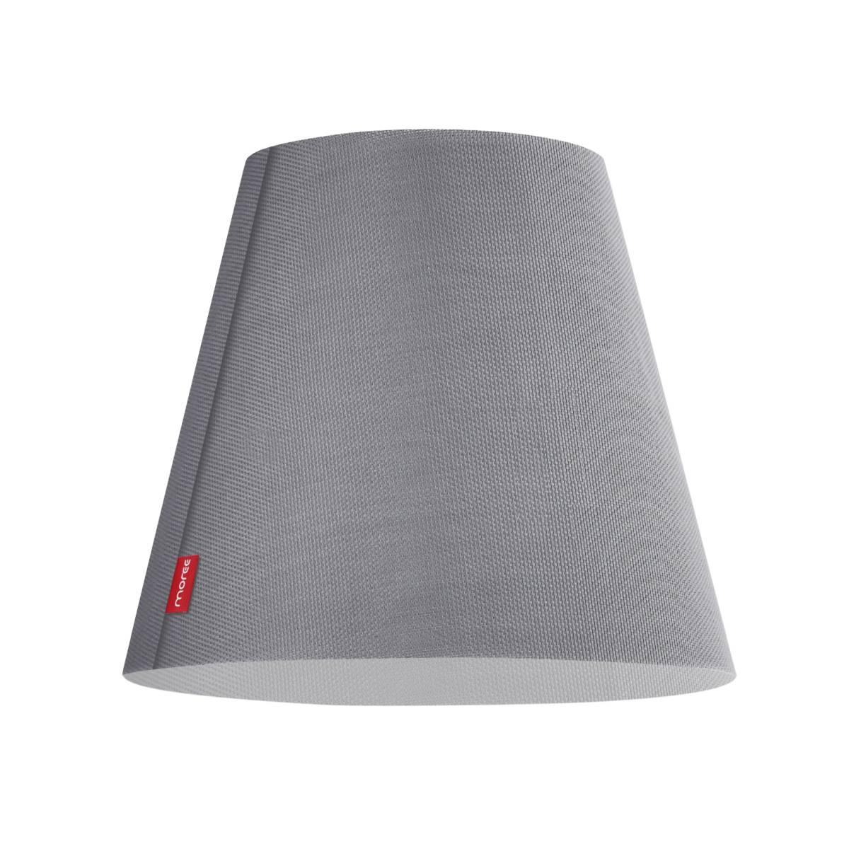SWAP Cover, Lampenschirm Outdoor Textaline (Textilschirm-Optik), grau