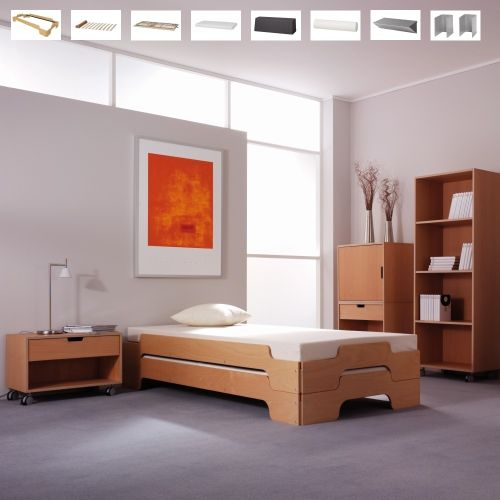 stapelliege klassik sofort lieferbar bei. Black Bedroom Furniture Sets. Home Design Ideas