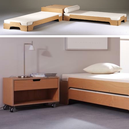 bettkasten mit deckel f r stapelliege bei. Black Bedroom Furniture Sets. Home Design Ideas