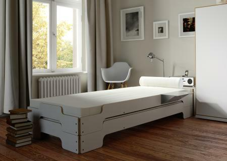 stapelliege rolf heide wei holzkante sofort lieferbar. Black Bedroom Furniture Sets. Home Design Ideas