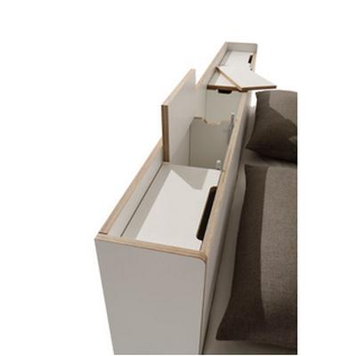 nook bett r ckwand ge ffnet. Black Bedroom Furniture Sets. Home Design Ideas