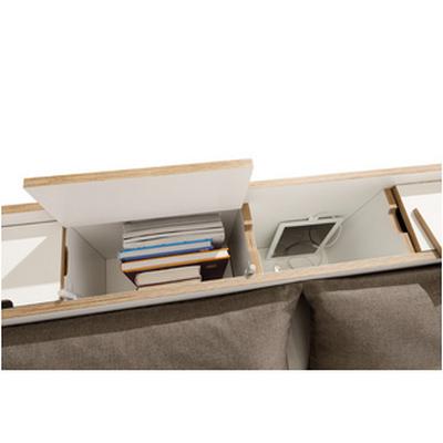 nook bett r ckwand stauraum. Black Bedroom Furniture Sets. Home Design Ideas