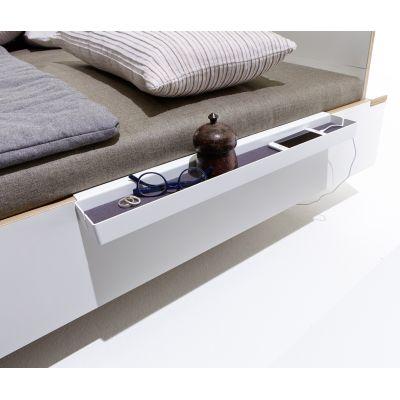 zubeh r f r flai bett ablagen zum einstecken homeform. Black Bedroom Furniture Sets. Home Design Ideas