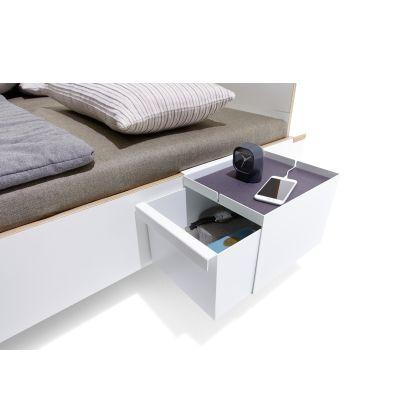 FLAI Bett Zubehör Kasten mit Schublade