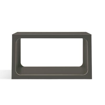 BOXIT Regal modular anthrazit mit Holzkante