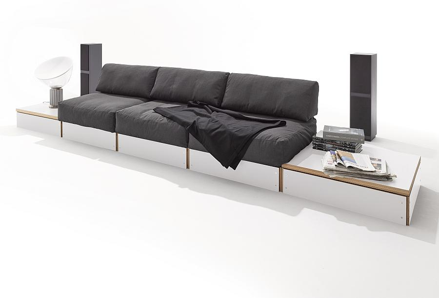 sofabank von rolf heide 2016 f r m ller bei homeform. Black Bedroom Furniture Sets. Home Design Ideas