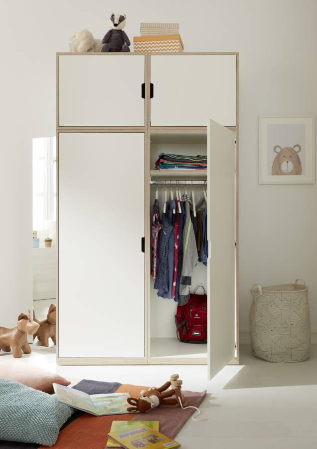 modular Rolf Heide stapelbar Kleiderschrank
