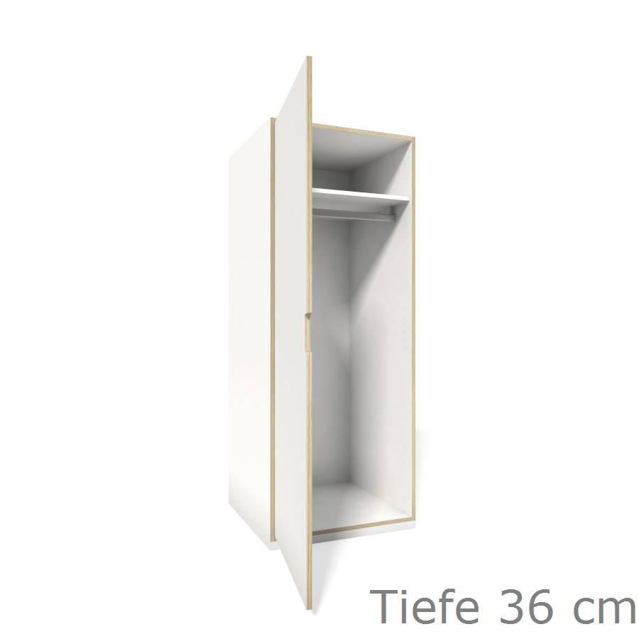 modular stapelbar Kleiderschrank von Rolf Heide bei homeform