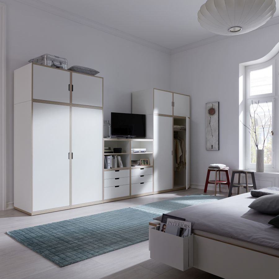 modular regal von rolf heide stapelbar bei homeform. Black Bedroom Furniture Sets. Home Design Ideas