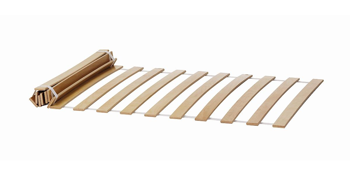 Lattenrost Birkenholz, rollbar, für Stapelliege