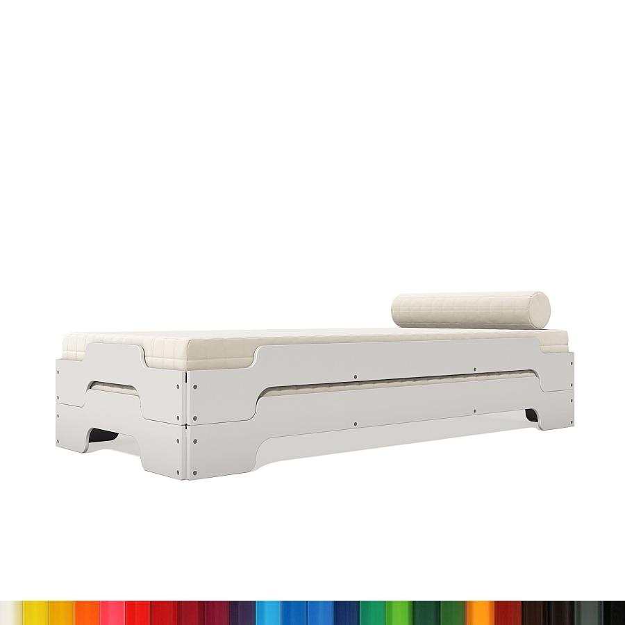 stapelliege rolf heide komfort lackiert von rolf heide. Black Bedroom Furniture Sets. Home Design Ideas