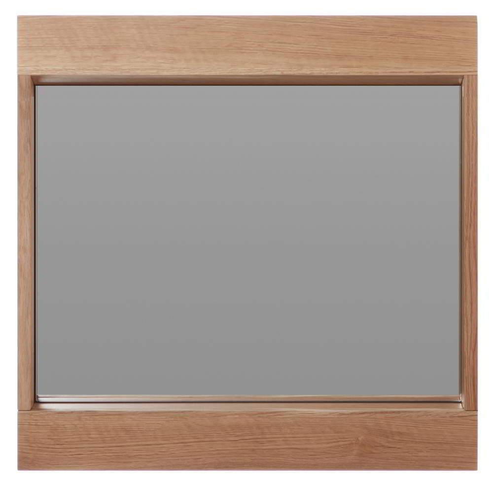 FLAI Spiegel 61 x 61 cm, Eiche natur