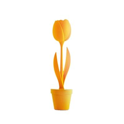TULIP S beleuchtete Tulpe Indoor, Gehäuse orange