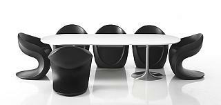 MISS PETRA Stuhl am Konferenztisch