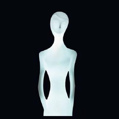 PENELOPE Statue beleuchtet, Oberkörper
