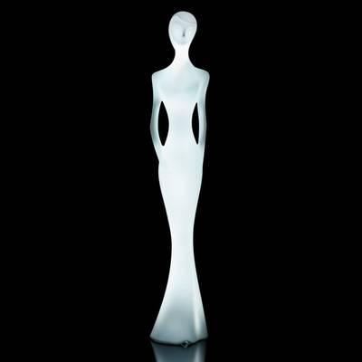 PENELOPE Statue beleuchtet - kaltweiß