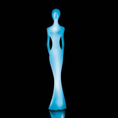 PENELOPE Statue beleuchtet mit Farbwechsel