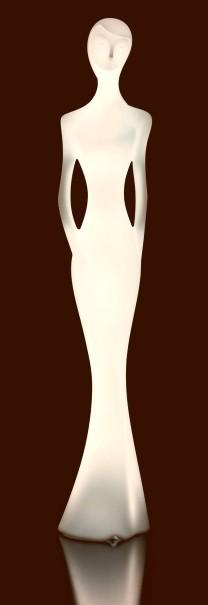 PENELOPE Statue beleuchtet warmweiß